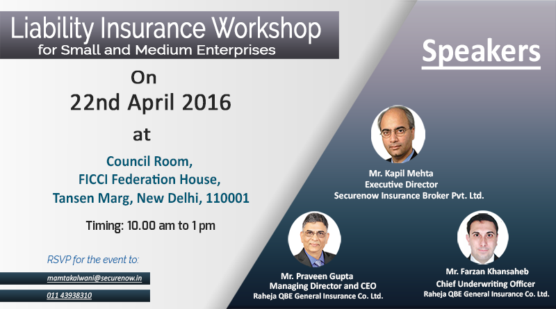 Liability Insurance Workshop for SMEs