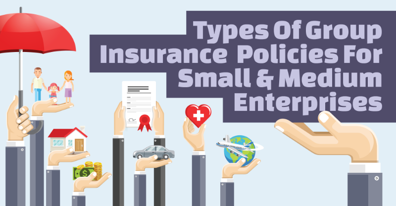 types of group insurance policies