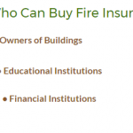 Things to know about a fire insurance policy